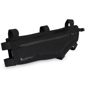 Acepac Zip Frame Bag M, black